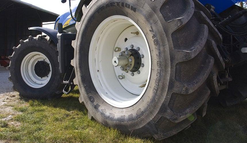 augmenter la taille de mes pneus de tracteur