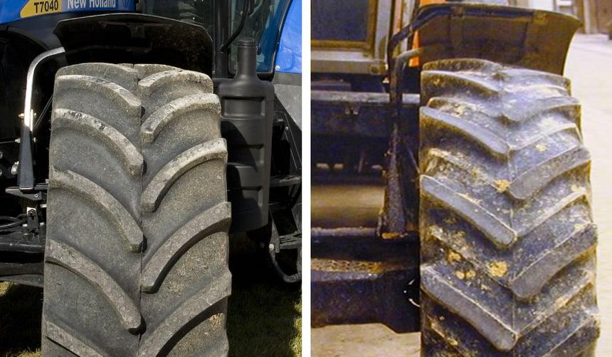 vérifier l'usure des barettes de pneus