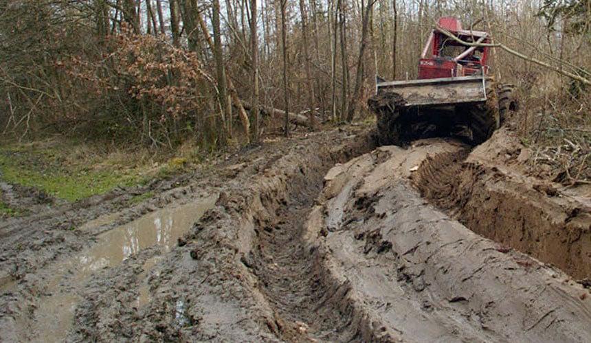 pneus pour travaux forestier
