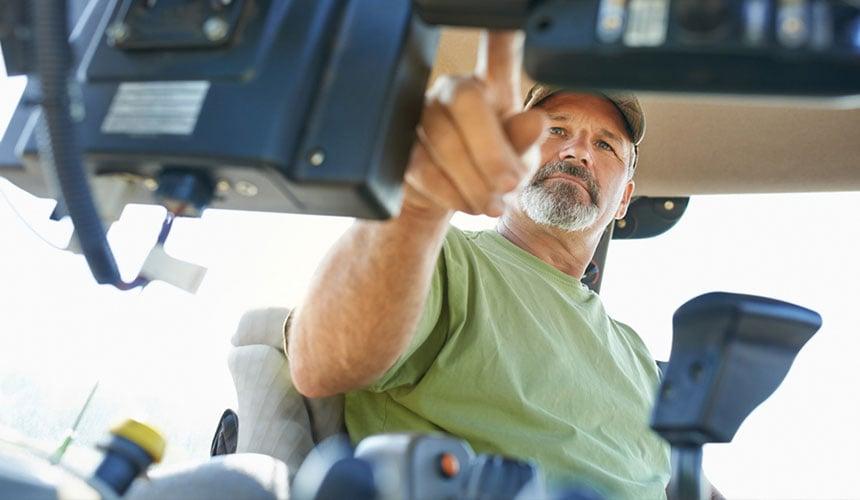 vibrations et bruit risque pour santé de l'agriculteur