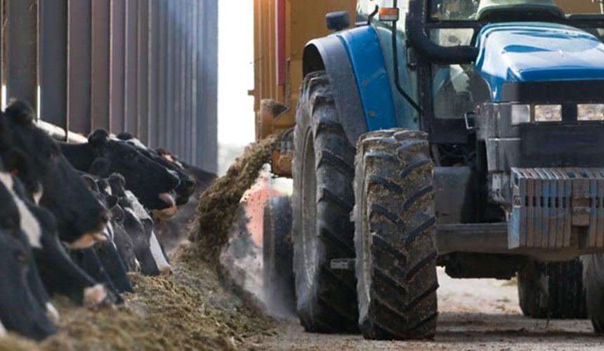 tracteur pour la polyculture et l'élevage