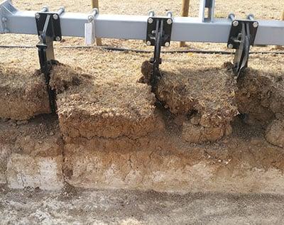 semelle de labour = couche de terre dure et compacte