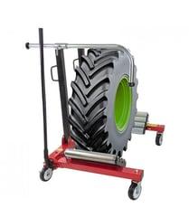 manipuler vos pneus avec un porte-roues