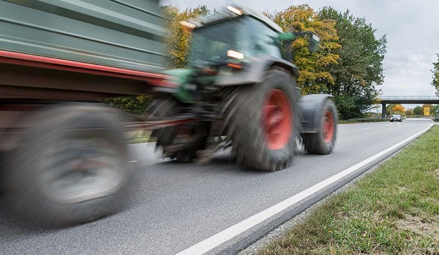 Freinage pneumatique double ligne pour vitesse supérieure à 40km/h