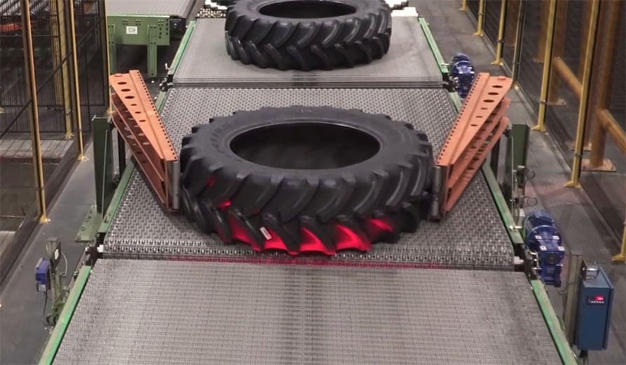 Toutes les explications sur la fabrication des pneus de tracteurs