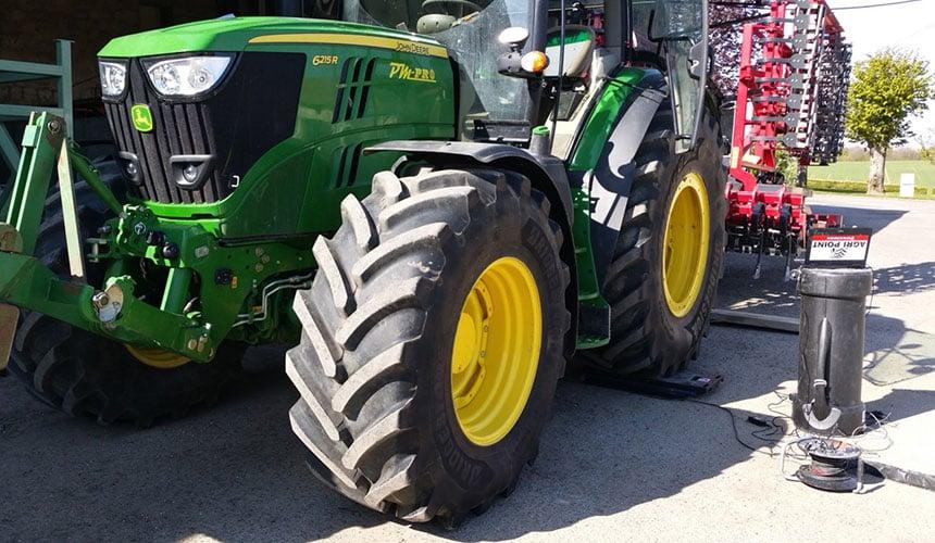 Réglages de pression VT-Tractor