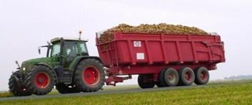 pneu agricole avec charges lourdes
