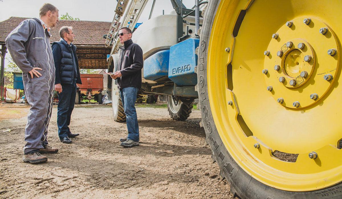 pneus agricoles données techniques