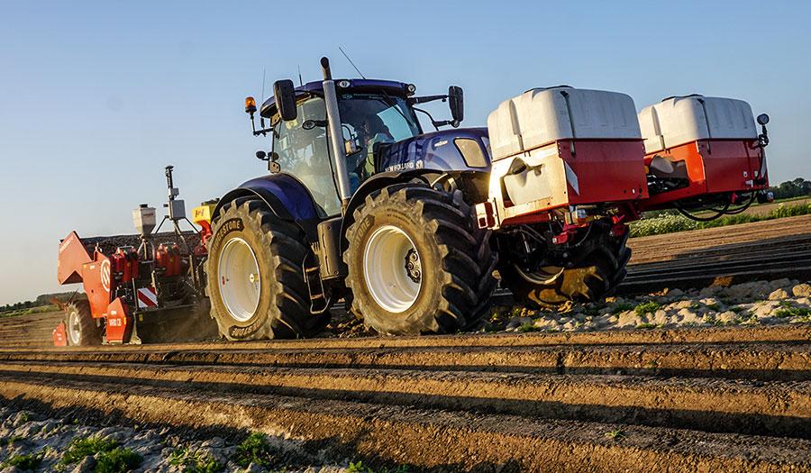tassement du sol avec vos pneus de tracteur