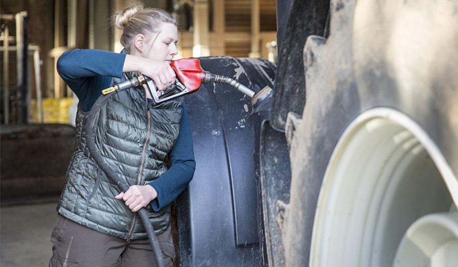 pneus de tracteur et consommation de carburant