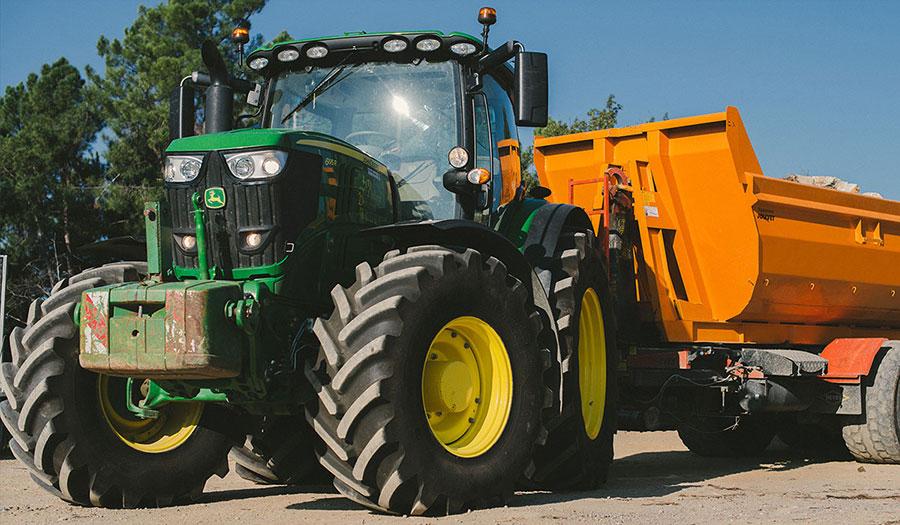 VX-Tractor des pneus plus résistants à l'usure